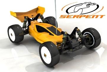 serpent rc car